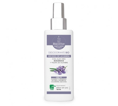 Desodorante Bio Spray 100ml - Hechizo de lavanda
