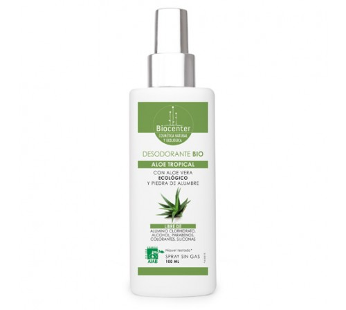 Desodorante Bio Spray 100ml - Aloe Tropical