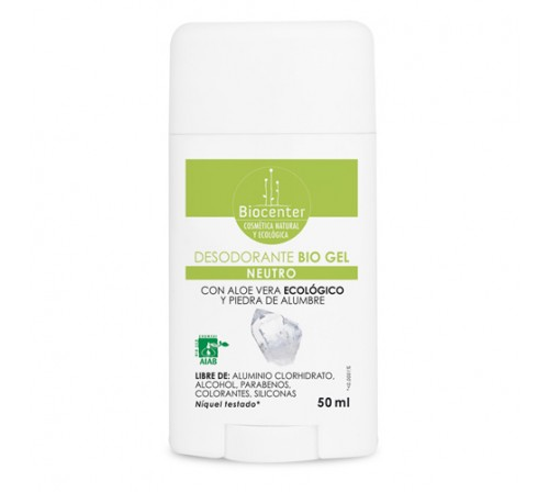 Desodorante Bio Gel 50ml - Neutro
