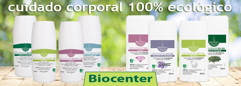 Desodorante eco Biocenter